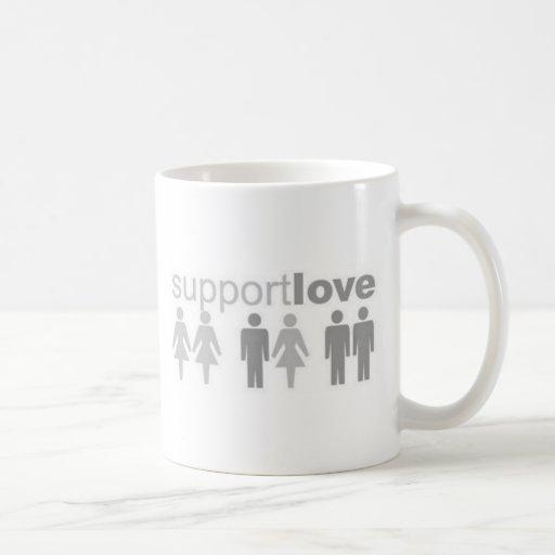 ayuda-amor taza básica blanca