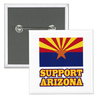 Ayuda Arizona Pin Cuadrado