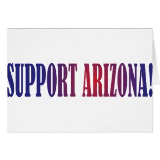 ¡Ayuda Arizona! Tarjeton