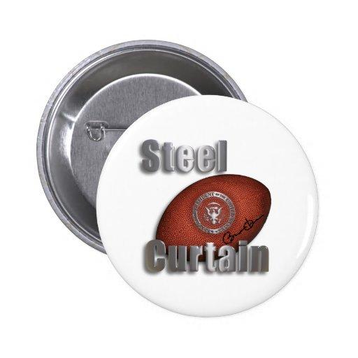 Ayuda de acero del Super Bowl de la cortina, presi Pin Redondo 5 Cm