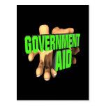 Ayuda de gobierno postal