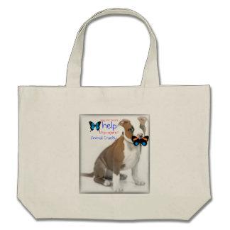 ayuda de la ayuda contra la crueldad animal bolsa