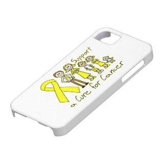 Ayuda de la familia del osteosarcoma una curación iPhone 5 cárcasa