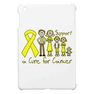 Ayuda de la familia del osteosarcoma una curación iPad mini funda