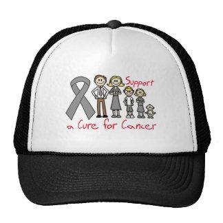 Ayuda de la familia del tumor cerebral una curació gorras de camionero