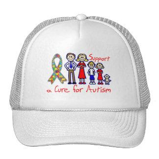 Ayuda de la familia una curación para el autismo gorras de camionero