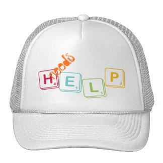 ayuda de las necesidades gorro
