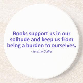Ayuda de libros nosotros en nuestra soledad posavaso para bebida