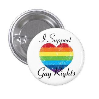 ayuda de los derechos de los homosexuales pins
