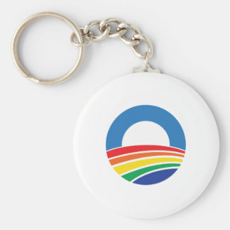 Ayuda de Obama 2012 para el matrimonio homosexual Llavero Personalizado