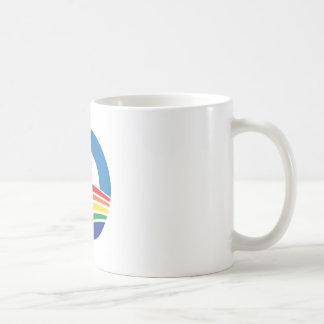 Ayuda de Obama 2012 para el matrimonio homosexual Tazas De Café