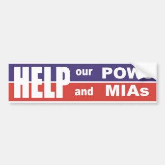 Ayuda de Vietnam nuestra pegatina para el parachoq Pegatina Para Auto