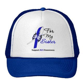 Ayuda del ALS para mi hermana Gorro