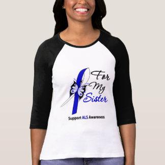 Ayuda del ALS para mi hermana Camisetas