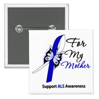 Ayuda del ALS para mi madre Pin Cuadrado
