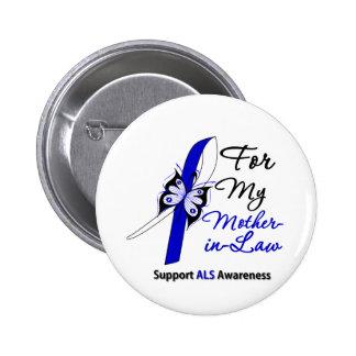 Ayuda del ALS para mi suegra Pin Redondo De 2 Pulgadas