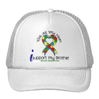 Ayuda del autismo I mi Brother Gorro De Camionero