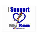 Ayuda del autismo I mi hijo Postal