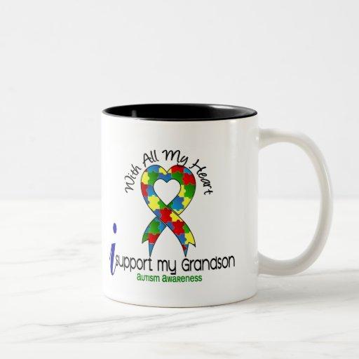 Ayuda del autismo I mi nieto Taza De Café