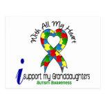 Ayuda del autismo I mis nietas Postal