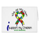 Ayuda del autismo I mis niños Felicitacion