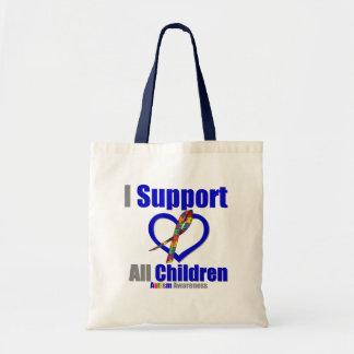 Ayuda del autismo I todos los niños Bolsa De Mano