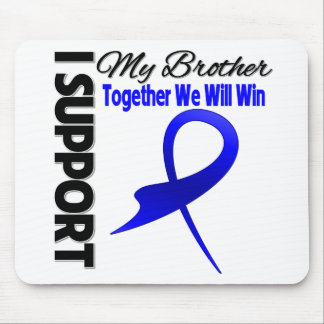 Ayuda del cáncer de colon I mi Brother Tapete De Raton