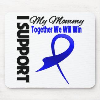 Ayuda del cáncer de colon I mi mamá Alfombrillas De Ratones