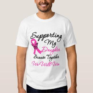 Ayuda del cáncer de pecho (hija) remeras