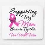 Ayuda del cáncer de pecho (mamá) alfombrillas de raton