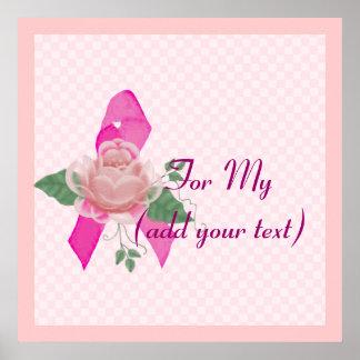Ayuda del cáncer de pecho impresiones