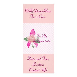Ayuda del cáncer de pecho diseños de tarjetas publicitarias