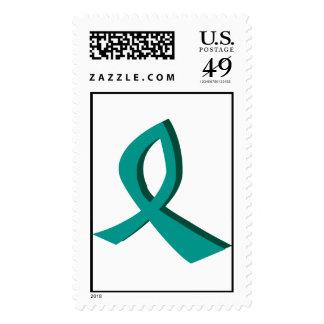 Ayuda del cáncer ovárico sellos