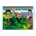 Ayuda del cocodrilo del GOP Tarjeta