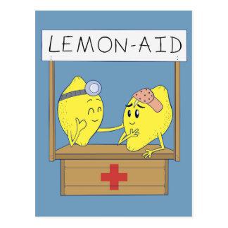Ayuda del limón postal