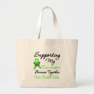 Ayuda del linfoma (hermana gemela) bolsas