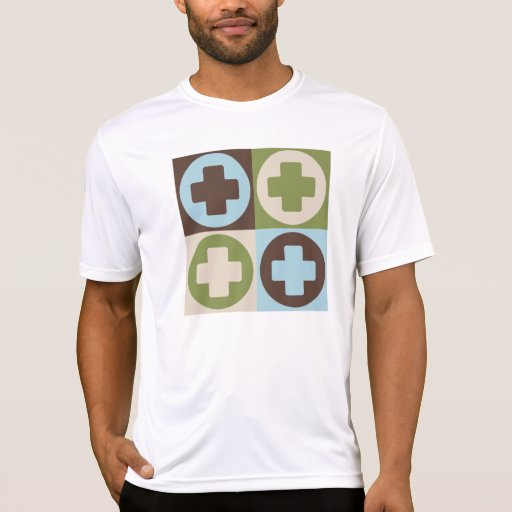 Ayuda del médico del arte pop camisetas