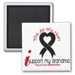 Ayuda del melanoma I mi abuela Imán Para Frigorífico
