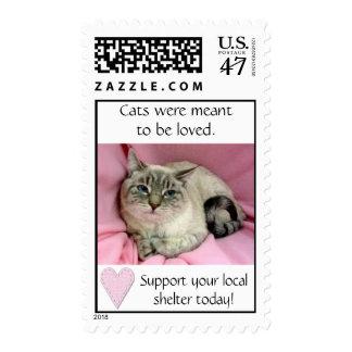 Ayuda del refugio timbres postales