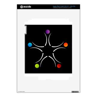 Ayuda del trabajo en equipo iPad 3 pegatina skin