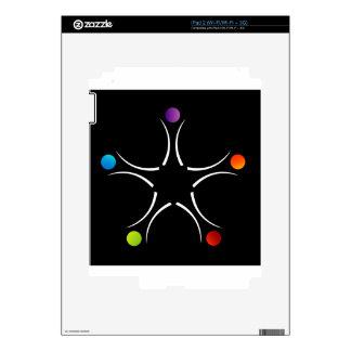 Ayuda del trabajo en equipo skins para iPad 2