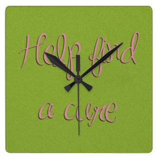 Ayuda encontrar un reloj de la curación