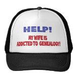 ¡Ayuda! Envician a mi esposa a la genealogía Gorros Bordados
