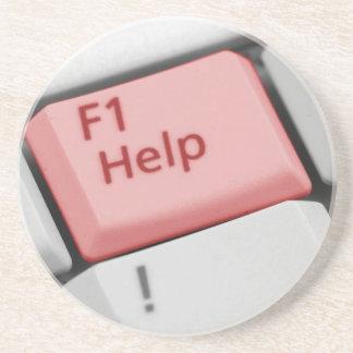 ¡Ayuda F1! Posavasos Para Bebidas