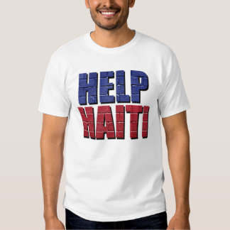 Ayuda Haití Playera