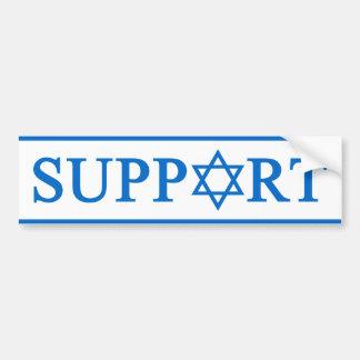Ayuda Israel Pegatina De Parachoque