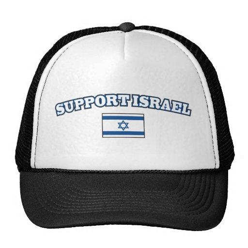 Ayuda Israel con la bandera Gorro
