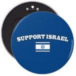 Ayuda Israel con la bandera Pin