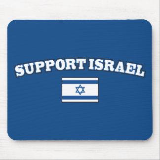 Ayuda Israel con la bandera Alfombrillas De Ratón