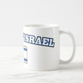 Ayuda Israel con la bandera Taza Clásica